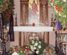 16.Interiér kaple s hrobkou rodiny Šustalovy