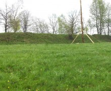 4. Panoramatický snímek šancí v Bukovci