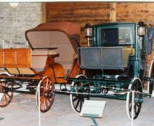 9.Expozice kočárů v objektu přilehlé stodoly